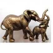 Arany elefánt 12cm