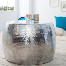 001-16-1722 ezüst dohányzó asztal